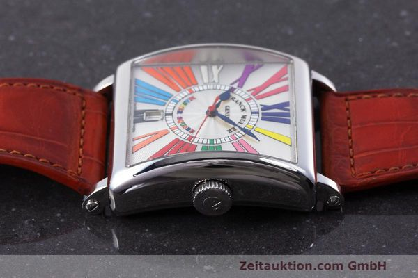 Used luxury watch Franck Muller Master Square steel automatic Kal. FM800 Ref. 6000 H SC  | 162181 05
