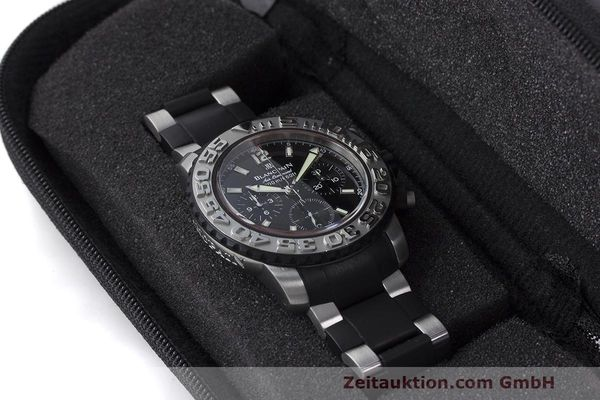 Used luxury watch Blancpain Air Command chronograph steel automatic Kal. F185 Ref. 2285F-6530  | 162190 07