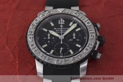 BLANCPAIN AIR COMMAND CHRONOGRAPH STEEL AUTOMATIC KAL. F185 LP: 14160EUR [162190]