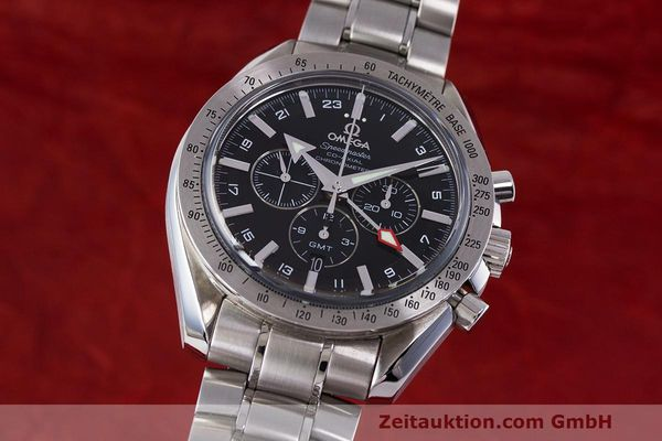 OMEGA SPEEDMASTER BROAD ARROW CO-AXIAL GMT CHRONOGRAPH AUTOMATIK NP: 6130,- Euro [162198]