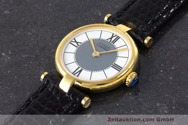 Used luxury watch Cartier Vermeil silver-gilt quartz Kal. 90  | 162202 01
