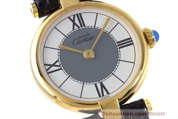 Used luxury watch Cartier Vermeil silver-gilt quartz Kal. 90  | 162202 02