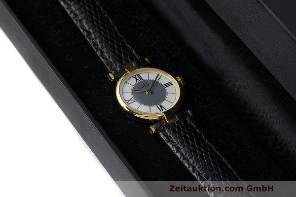 Used luxury watch Cartier Vermeil silver-gilt quartz Kal. 90  | 162202 07