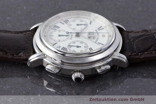 Used luxury watch Maurice Lacroix Masterpiece Flyback chronograph steel automatic Kal. 15 ETA 2892-2 Ref. 15827  | 162205 05