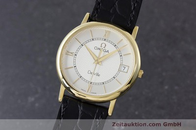 OMEGA DE VILLE OR 18 CT QUARTZ KAL. 1532 LP: 7340EUR [162207]