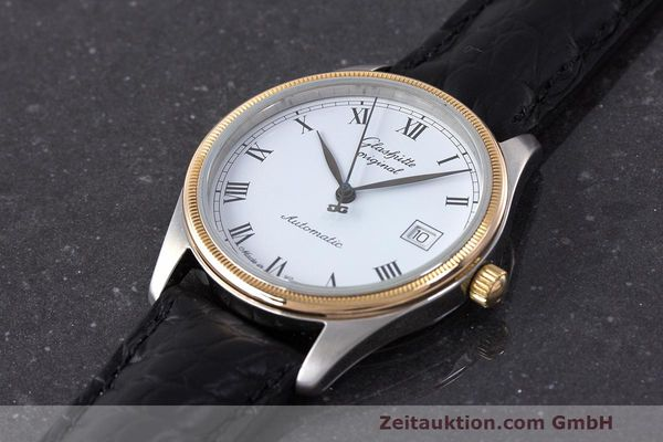 Used luxury watch Glashütte Senator steel / gold automatic Kal. GUB 10-30  | 162208 01