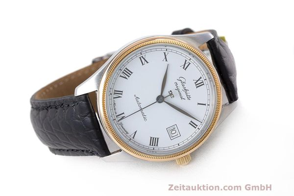 Used luxury watch Glashütte Senator steel / gold automatic Kal. GUB 10-30  | 162208 03