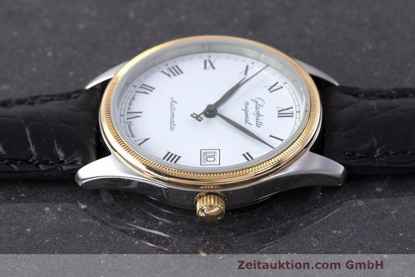 Used luxury watch Glashütte Senator steel / gold automatic Kal. GUB 10-30  | 162208 05