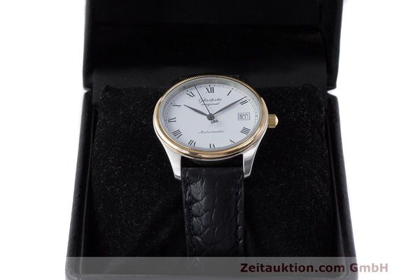 Used luxury watch Glashütte Senator steel / gold automatic Kal. GUB 10-30  | 162208 07