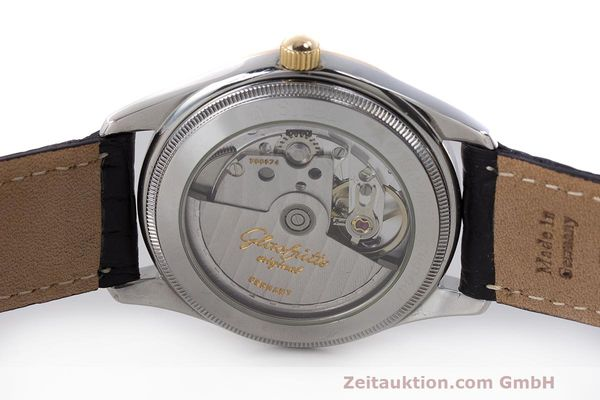 Used luxury watch Glashütte Senator steel / gold automatic Kal. GUB 10-30  | 162208 09