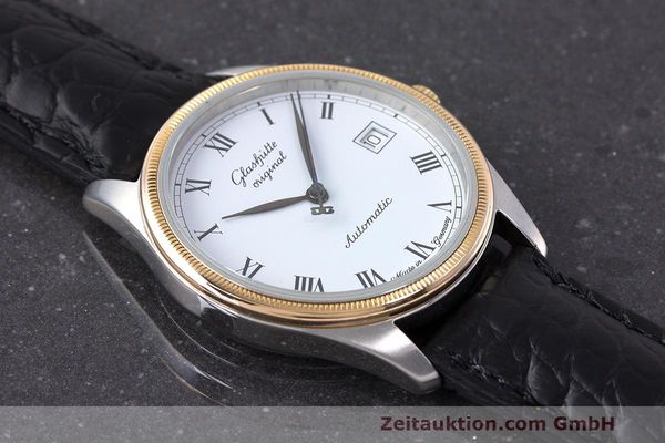 Used luxury watch Glashütte Senator steel / gold automatic Kal. GUB 10-30  | 162208 12