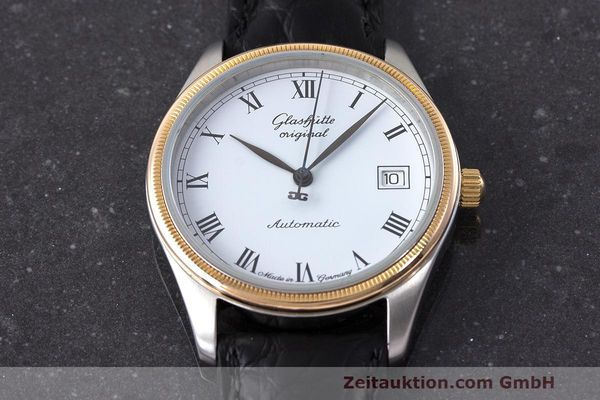 Used luxury watch Glashütte Senator steel / gold automatic Kal. GUB 10-30  | 162208 13