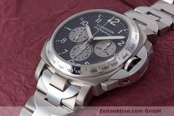 Used luxury watch Panerai Luminor  chronograph titanium automatic Kal. OP IV 400/2 Ref. OP6531 PAM00122  | 162209 01