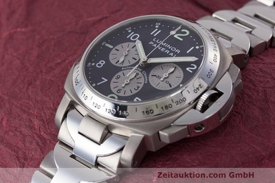 PANERAI LUMINOR CHRONOGRAPHE TITANE AUTOMATIQUE KAL. OP IV 400/2 LP: 7400EUR [162209]