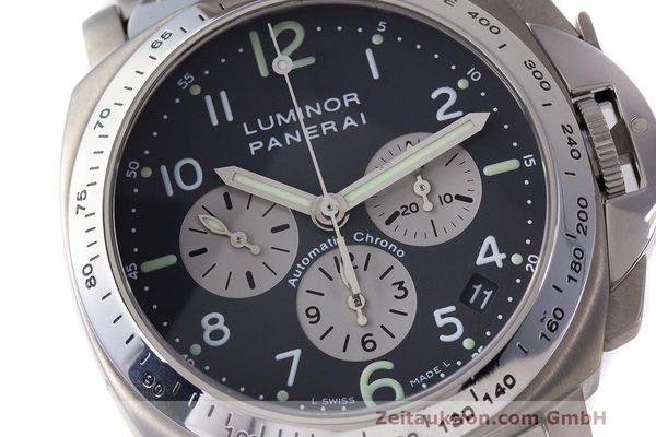 Used luxury watch Panerai Luminor  chronograph titanium automatic Kal. OP IV 400/2 Ref. OP6531 PAM00122  | 162209 02