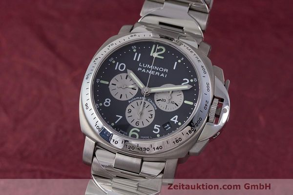 Used luxury watch Panerai Luminor  chronograph titanium automatic Kal. OP IV 400/2 Ref. OP6531 PAM00122  | 162209 04