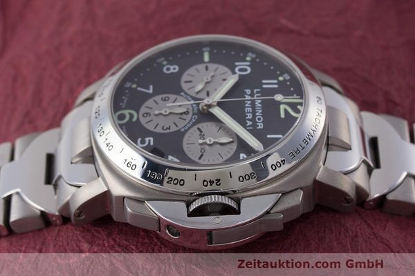 Used luxury watch Panerai Luminor  chronograph titanium automatic Kal. OP IV 400/2 Ref. OP6531 PAM00122  | 162209 05