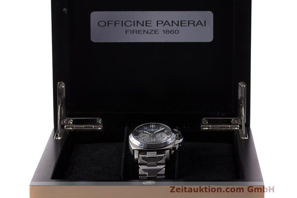 Used luxury watch Panerai Luminor  chronograph titanium automatic Kal. OP IV 400/2 Ref. OP6531 PAM00122  | 162209 07