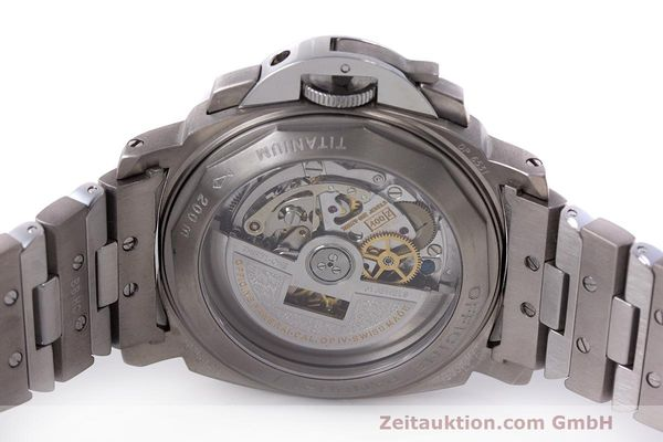 Used luxury watch Panerai Luminor  chronograph titanium automatic Kal. OP IV 400/2 Ref. OP6531 PAM00122  | 162209 09