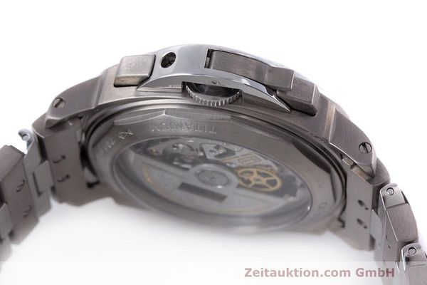 Used luxury watch Panerai Luminor  chronograph titanium automatic Kal. OP IV 400/2 Ref. OP6531 PAM00122  | 162209 11
