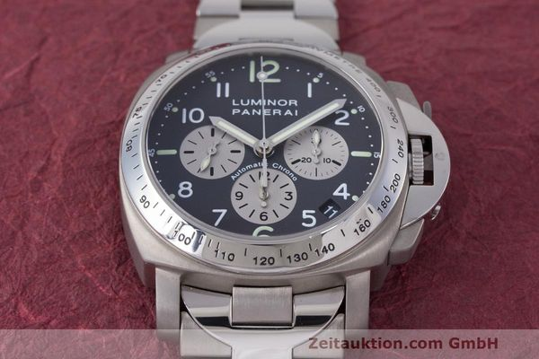 Used luxury watch Panerai Luminor  chronograph titanium automatic Kal. OP IV 400/2 Ref. OP6531 PAM00122  | 162209 18