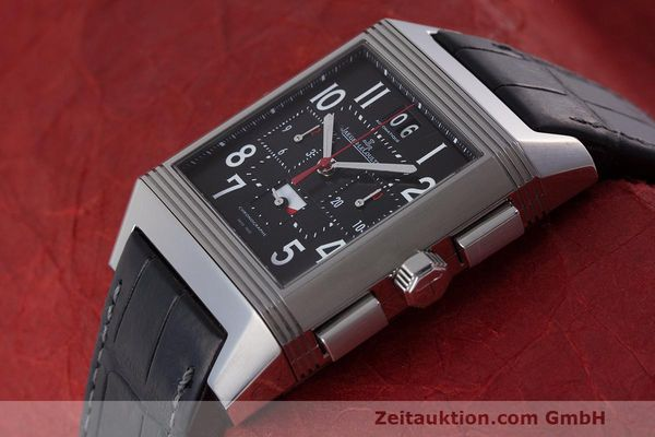 Used luxury watch Jaeger Le Coultre Reverso chronograph steel automatic Kal. 753 Ref. 231.T.50 LIMITED EDITION | 162211 01