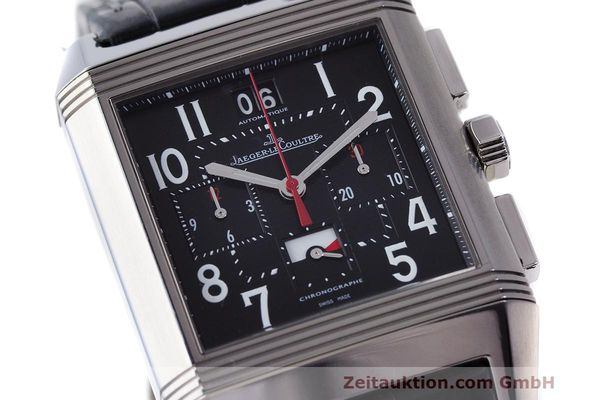 Used luxury watch Jaeger Le Coultre Reverso chronograph steel automatic Kal. 753 Ref. 231.T.50 LIMITED EDITION | 162211 02