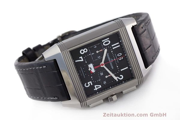 Used luxury watch Jaeger Le Coultre Reverso chronograph steel automatic Kal. 753 Ref. 231.T.50 LIMITED EDITION | 162211 03