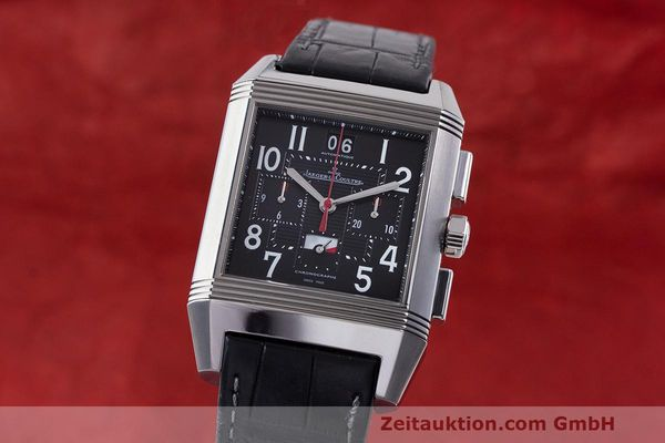Used luxury watch Jaeger Le Coultre Reverso chronograph steel automatic Kal. 753 Ref. 231.T.50 LIMITED EDITION | 162211 04
