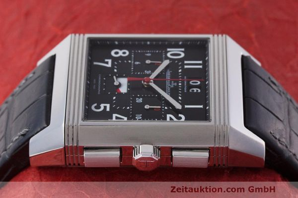 Used luxury watch Jaeger Le Coultre Reverso chronograph steel automatic Kal. 753 Ref. 231.T.50 LIMITED EDITION | 162211 05