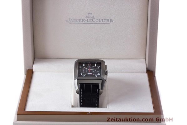 Used luxury watch Jaeger Le Coultre Reverso chronograph steel automatic Kal. 753 Ref. 231.T.50 LIMITED EDITION | 162211 07