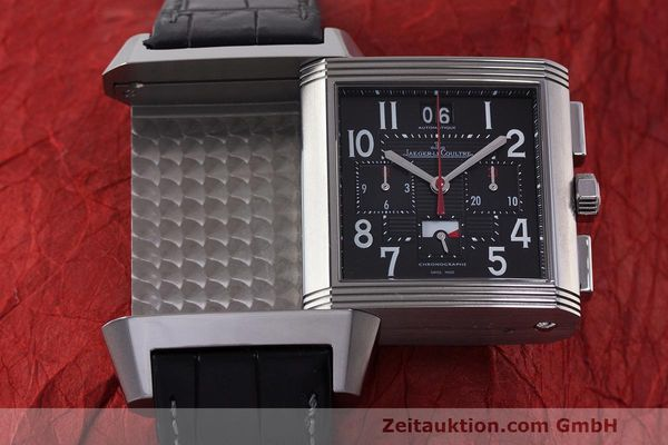 Used luxury watch Jaeger Le Coultre Reverso chronograph steel automatic Kal. 753 Ref. 231.T.50 LIMITED EDITION | 162211 15