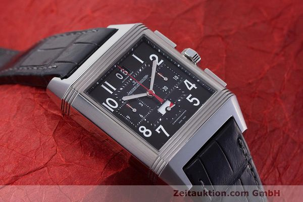 Used luxury watch Jaeger Le Coultre Reverso chronograph steel automatic Kal. 753 Ref. 231.T.50 LIMITED EDITION | 162211 16