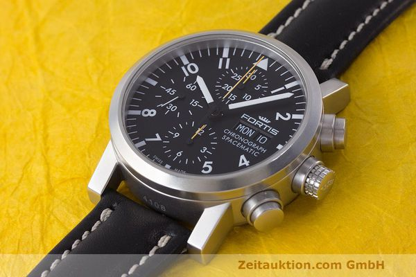 Used luxury watch Fortis Spacematic chronograph steel automatic Kal. ETA 7750 Ref. 625.22.141.1  | 162212 01