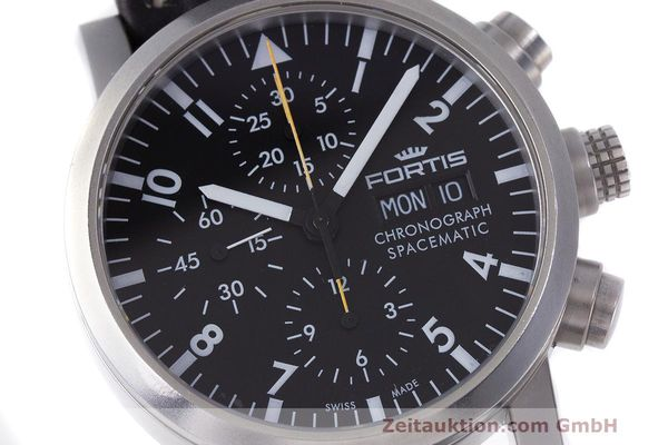 Used luxury watch Fortis Spacematic chronograph steel automatic Kal. ETA 7750 Ref. 625.22.141.1  | 162212 02