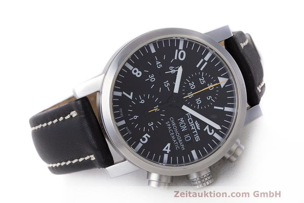 Used luxury watch Fortis Spacematic chronograph steel automatic Kal. ETA 7750 Ref. 625.22.141.1  | 162212 03