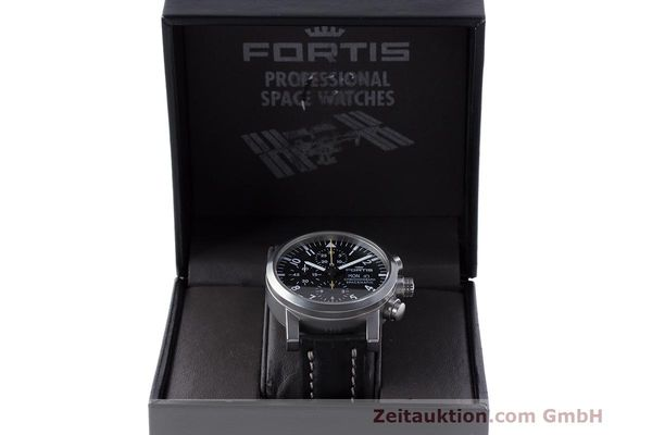 Used luxury watch Fortis Spacematic chronograph steel automatic Kal. ETA 7750 Ref. 625.22.141.1  | 162212 07