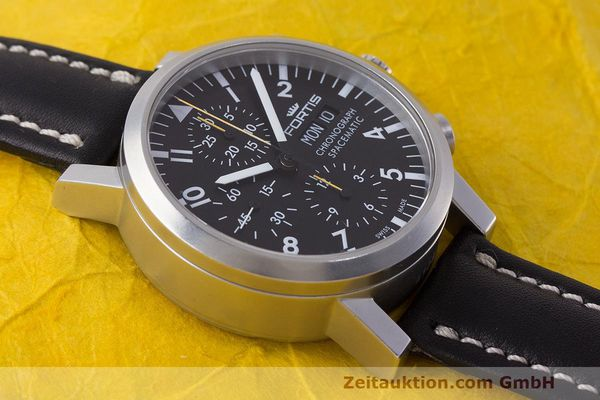 Used luxury watch Fortis Spacematic chronograph steel automatic Kal. ETA 7750 Ref. 625.22.141.1  | 162212 14