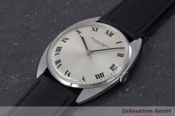 Used luxury watch IWC * steel manual winding Kal. 403 VINTAGE  | 162214 01