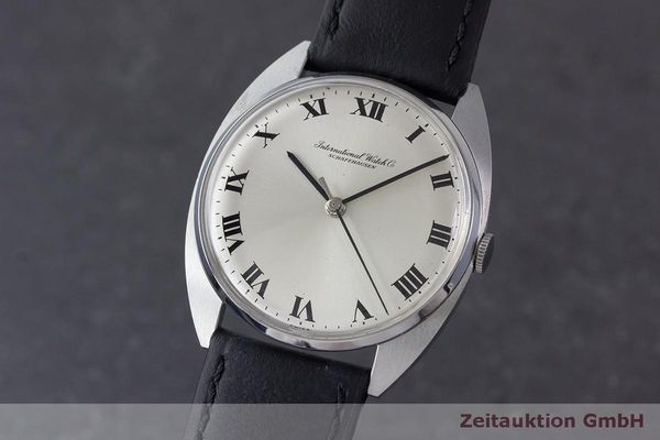 Used luxury watch IWC * steel manual winding Kal. 403 VINTAGE  | 162214 04