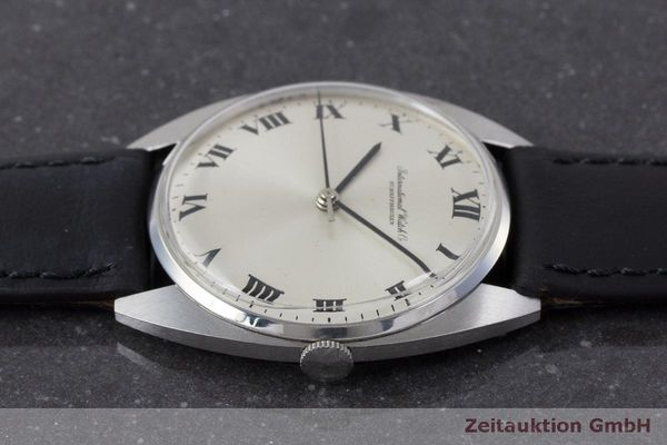 Used luxury watch IWC * steel manual winding Kal. 403 VINTAGE  | 162214 05