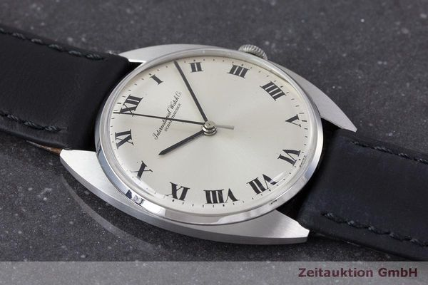 Used luxury watch IWC * steel manual winding Kal. 403 VINTAGE  | 162214 13