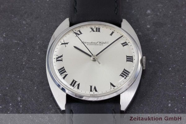 Used luxury watch IWC * steel manual winding Kal. 403 VINTAGE  | 162214 14