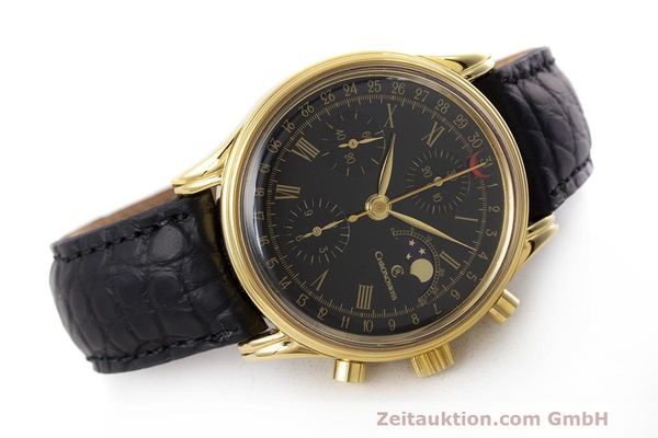 Used luxury watch Chronoswiss A. Rochat chronograph gold-plated automatic Kal. ETA 7750 Ref. 77990  | 162217 03