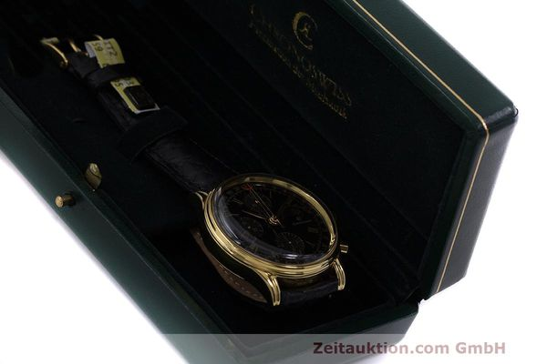 Used luxury watch Chronoswiss A. Rochat chronograph gold-plated automatic Kal. ETA 7750 Ref. 77990  | 162217 07