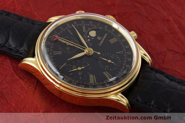Used luxury watch Chronoswiss A. Rochat chronograph gold-plated automatic Kal. ETA 7750 Ref. 77990  | 162217 14