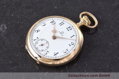 OMEGA POCKET WATCH 14 CT RED GOLD MANUAL WINDING VINTAGE [162218]