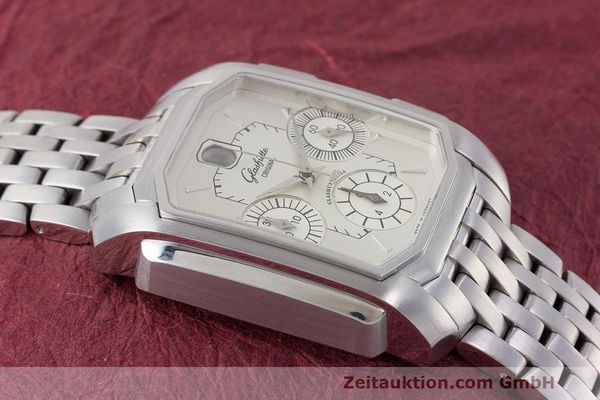 Used luxury watch Glashütte Senator chronograph steel automatic Kal. GUB 39  | 162219 14