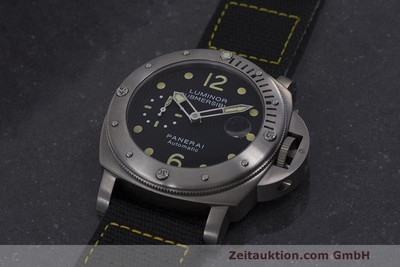 PANERAI LUMINOR SUBMERSIBLE TITANIO AUTOMATISMO KAL. 7750P1 ETA A0511 LP: 6600EUR [162220]