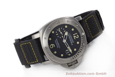 PANERAI LUMINOR SUBMERSIBLE TITAN AUTOMATIK HERRENUHR PAM00025 LP: 6600,- EURO [162220]
